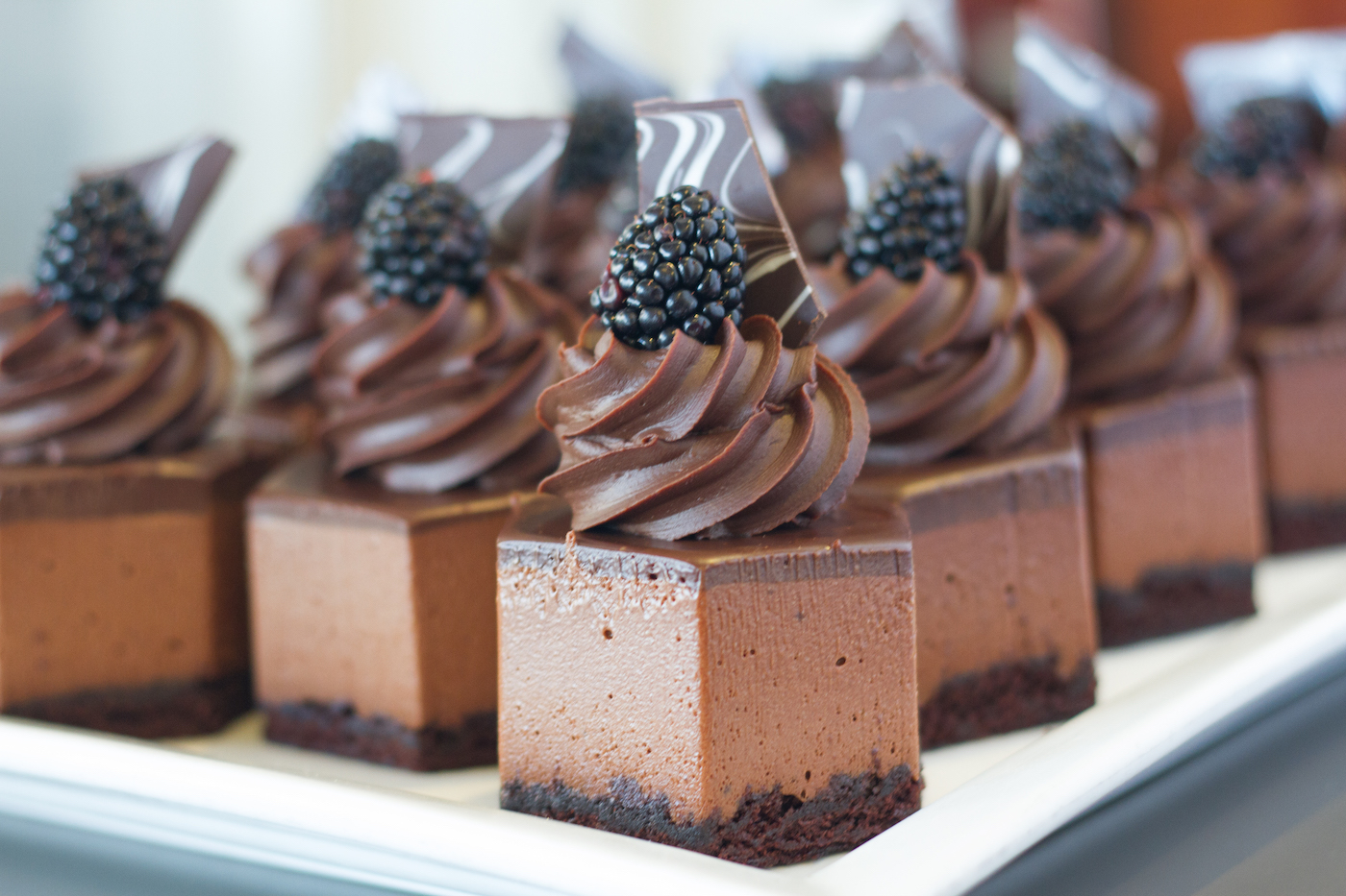 Tartine Chocolate Mousse cups
